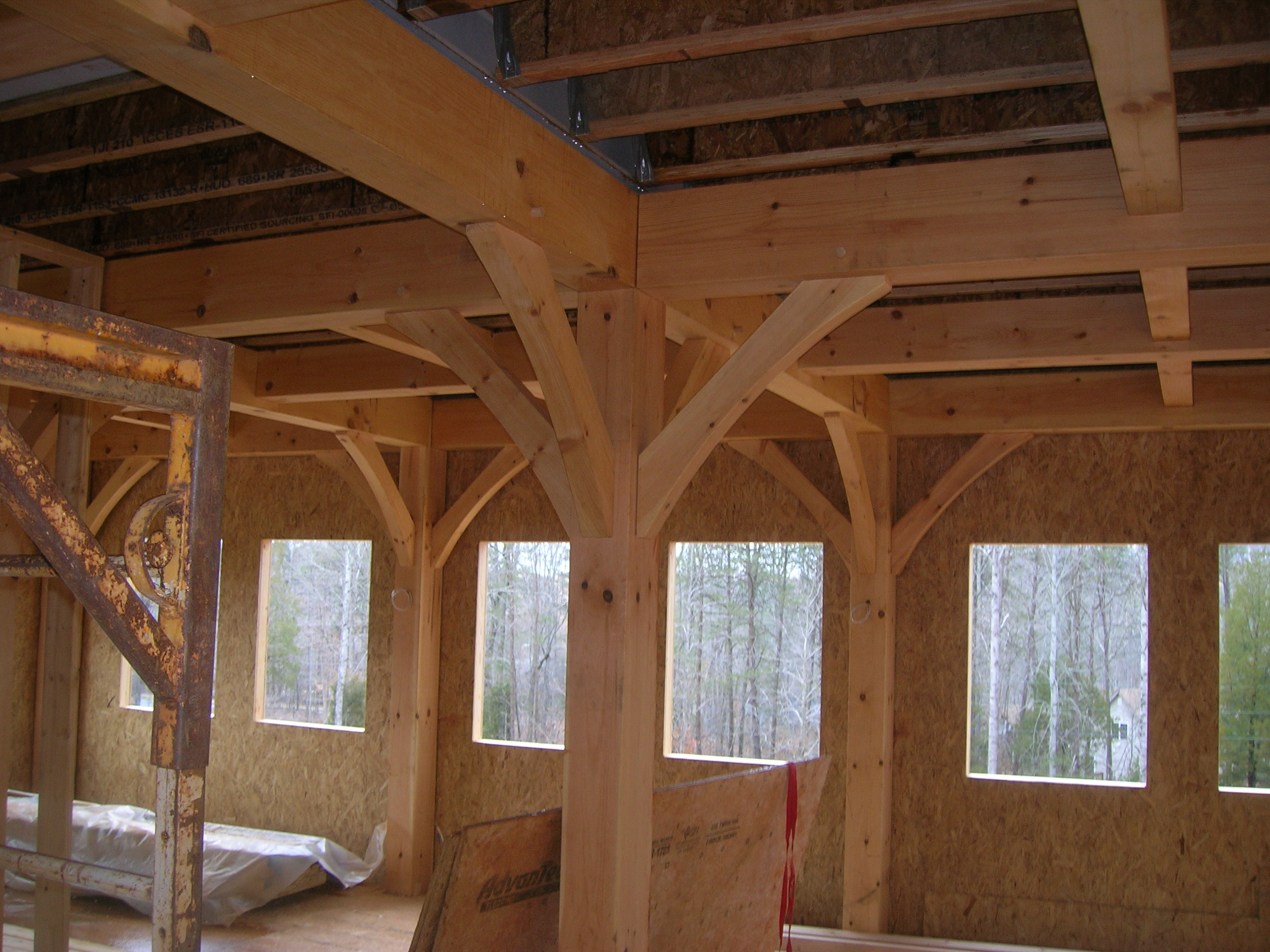 Rustic Timber Frame House Plans