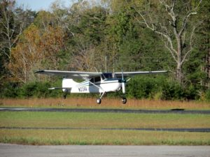Cessna landing
