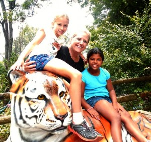 At Mill Mountain Zoo