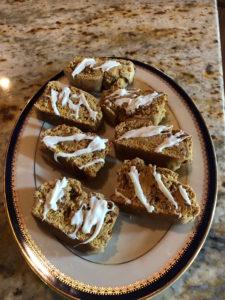 glazed biscotti