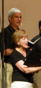 Karen & Jack singing