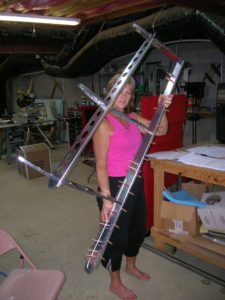 vertical stabilizer frame