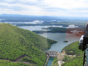 SML Dam from the air