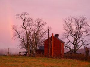 rainbow & Barn